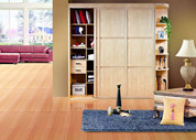 Inserted Sliding Door Wardrobe-C013