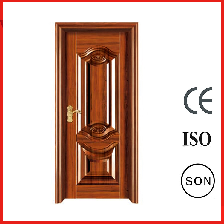 Solid Interior Stainless Cold Rolled Steel Swinging Single Door For Project