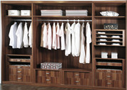 Overlay Sliding Door Wardrobe-C003